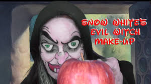 Halloween Snow White Makeup by Snow White And The Seven Dwarfs Witch Makeup Youtube