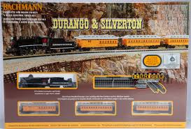 bachmann n 24020 durango and silverton steam set with e z