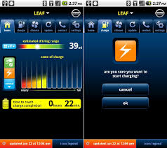 battery app for android nissan leaf official app for android your battery android