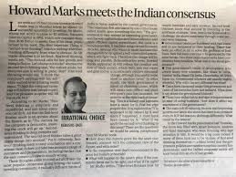 howard marks meets the indian consensus alpha ideas