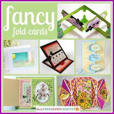 14 fancy fold cards allfreepapercrafts