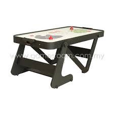 foldable air hockey table bce 6ft typhoon folding air hockey table