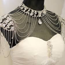 vintage wedding necklace images New fashion bride jewelry vintage wedding accessories gold silver jpg
