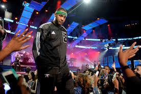 carmelo anthony photos photos celebrities attend the 63rd nba