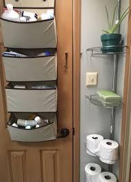 Over The Door Bathroom Organizer Rv Bathroom Storage U0026 Organization Ideas Rv Inspiration