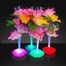 flower arrangements with lights led flowers fiber optic centerpieces bongo flashers