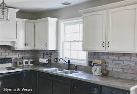 Slate Backsplash Kitchen White Kitchen Cabinets With Black Countertops White Cabinets Zerra