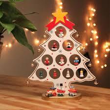 christmas ornaments sale diy wooden christmas tree decoration christmas gift