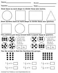 quarter and halves math worksheet free printable worksheets