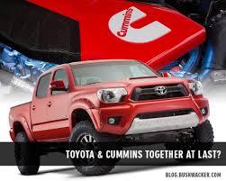 toyota tacoma diesel truck toyota tacoma cummins diesel bushwacker