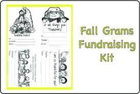 fall grams fundraising kit downloadable