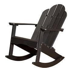 Adirondack Chairs Resin Wildridge Adirondack Rocking Chair Rocking Furniture