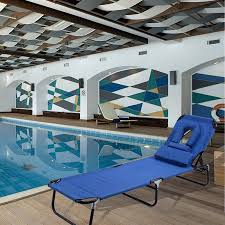 Chaise Lounge Pool Costway Patio Foldable Chaise Lounge Chair Bed Outdoor Beach