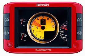 ferrari gps or etch a sketch cnet