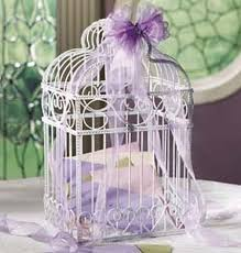 wedding gift card holder birdcage decorating ideas card holder centerpiece candles