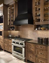 Knotty Wood Kitchen Cabinets by Like The Tone Of The Rustic Knotty Alder Kitchen Cabinets Would