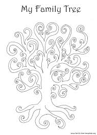 family tree coloring page 29028 bestofcoloring com