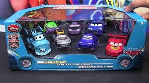 mater monster truck videos light up deluxe die cast set tuners dj wingo lightning mcqueen