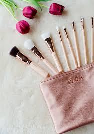 zoeva rose golden luxury set vol 2 makeup brushes review