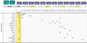 Free Daily Expense Tracker Excel Template Personal Expense Tracker My Excel Templates