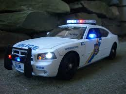 Custom Car Lights Blue Line Diecast Custom Diecast Police Models And Flashing