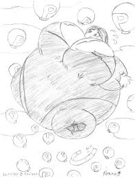 sketch commish 8 p balloon sea by konekoryu on deviantart