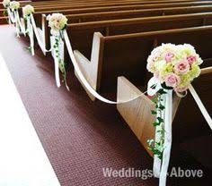 pew wedding deocortions best wedding decorations best church