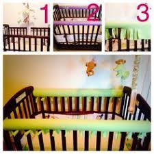 pool noodle crib bumper now elaina won u0027t use her normal crib