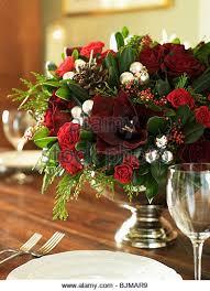christmas floral arrangements christmas floral arrangement stock photos christmas floral