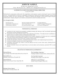 executive director resume objective sample resumes sales mana
