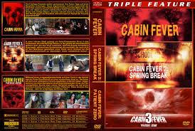 cabin fever trilogie dvd cover 2014 custom german