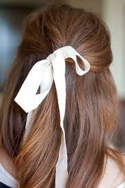 hair ribbon hair inspiration put a bow on it design