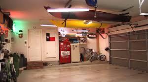 overhead garage storage most popular home design kayak hoist storage youtube