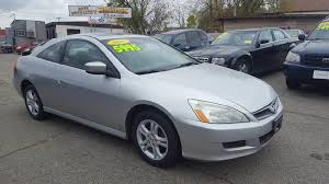 2007 honda accord coupe ex l 2007 honda accord ex 2dr coupe 2 4l i4 5a for sale lowell ma