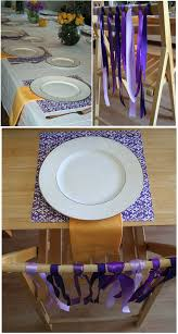 purple u0026 yellow dinner party thoughtfully simple