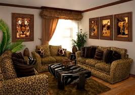Bedroom Decorating Ideas Brown And Red Bedrooms With Leopard Accents Cheetah Print Wall Stickers Zebra