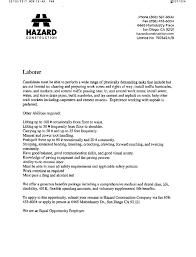 Construction Jobs Resume by Hazard Construction Job Announcement Abasd