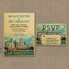 wedding invitations san diego san diego wedding invitation printable vintage san diego