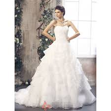 abbie beautiful a line wedding dress