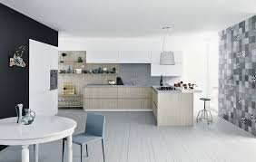 cuisine effet bois plan de travail stratifie imitation bois maison design bahbe com