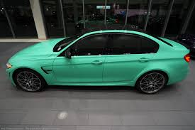 green bmw bmw individual mint green m3 competition is a true one off