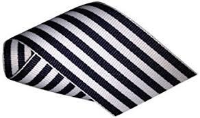 black and white striped ribbon schiff ribbons 44207 9 10 yard candy stripe ribbon 1