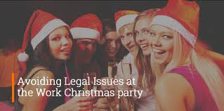 avoiding legal issues at the work christmas party lawbid