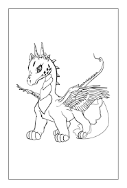 dragon coloring pages coloring rocks