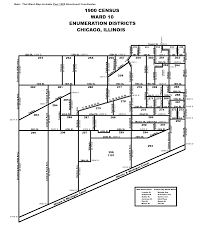 12th ward chicago map 1900
