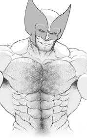 wolverine chest by graphic muscle on deviantart