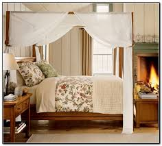 Poster Bed Canopy Four Poster Bed Canopy Curtains Home Design