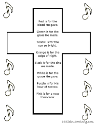 free easter poems free easter cross templates for cards easter craft poem and