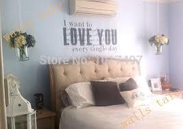 master bedroom wall decals romantic master bedroom love vinyl wall decal stickers love