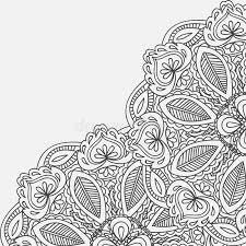 Mehndi Cards Henna Mehndi Card Template Mehndi Invitation Design Element For